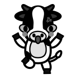 cow_angry-monochrome