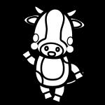 cow_enjoy-blackwhite