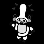 cow_enjoy-monochrome