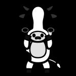 cow_sad-monochrome
