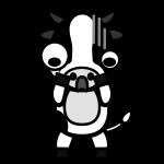 cow_shock-monochrome