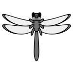 dragonfly_red-monochrome