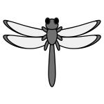dragonfly_red-top-monochrome