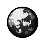 earth_space-monochrome