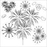 fireworks_display-blackwhite