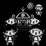 mikoshi_children-monochrome