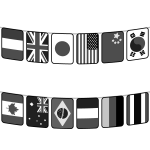 national-flag_all-nations02-monochrome