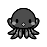 octopus_01-monochrome