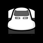 shinkansen_01-front-monochrome