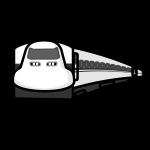 shinkansen_01-monochrome