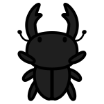 stag-beetle_01-top-monochrome