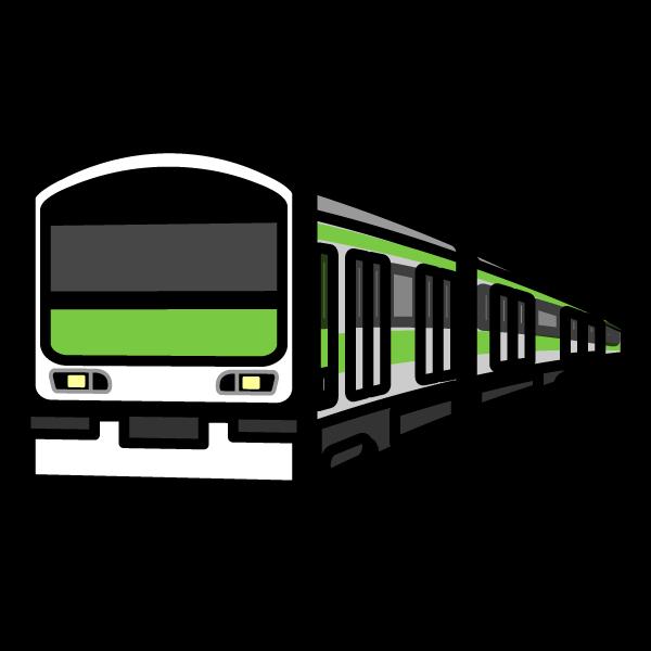 かわいい電車の無料イラスト・商用フリー