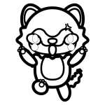 wolf_angry-blackwhite