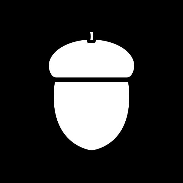 acorn_01-blackwhite Blackwhite