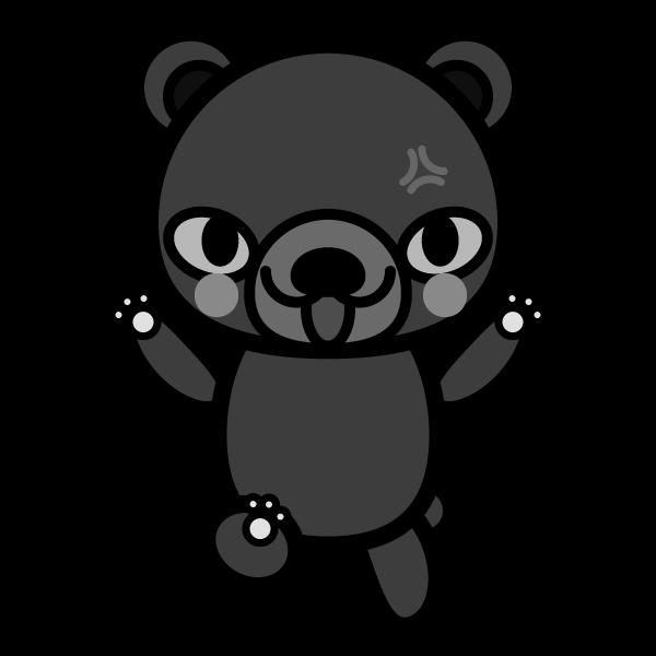 bear_angry-monochrome