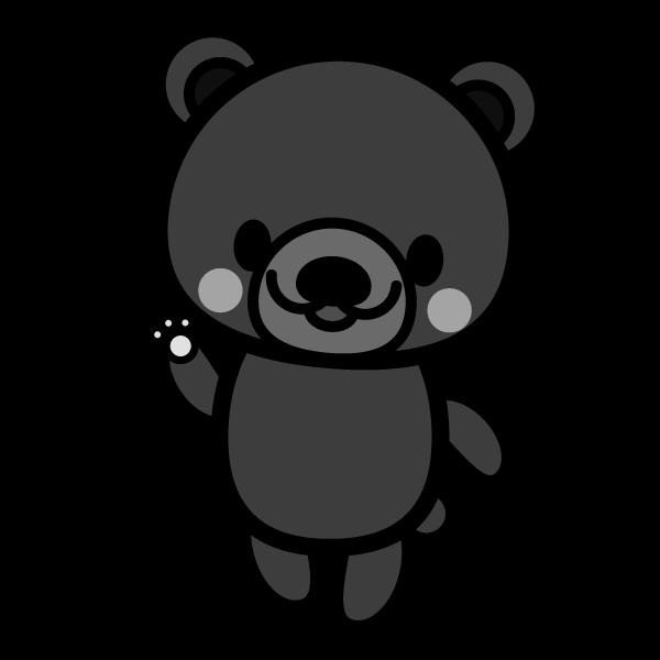 bear_enjoy-monochrome