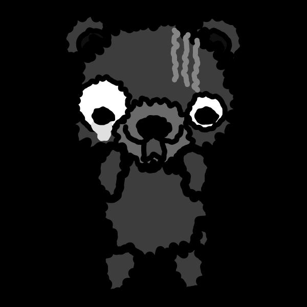 bear_fear-monochrome
