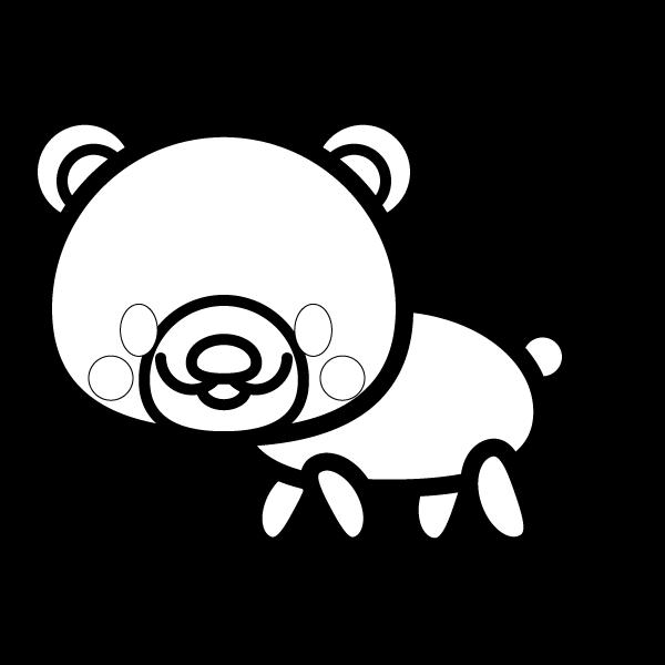 bear_side-blackwhite
