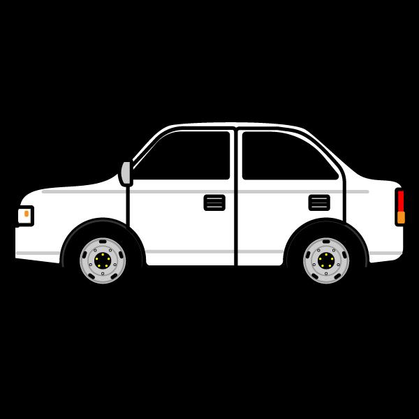 かわいい車の無料イラスト・商用フリー