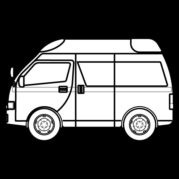 car_ambulance-blackwhite
