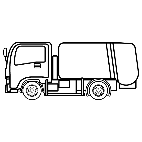 car_dustcart-blackwhite