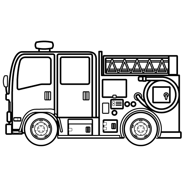 car_fire-engine-blackwhite