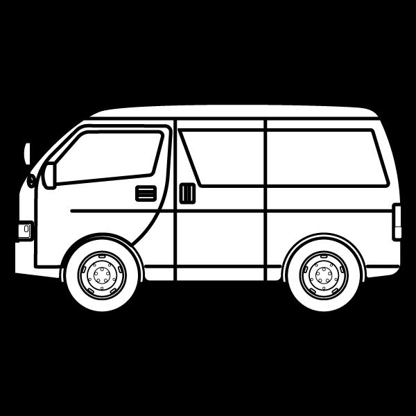 car_wagon-blackwhite Blackwhite