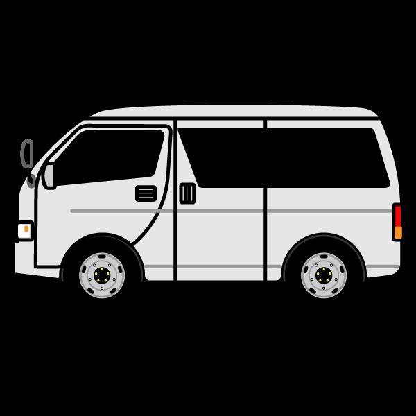 かわいいワゴン車の無料イラスト・商用フリー