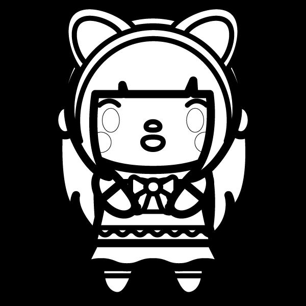 cat-ears-girl_02-blackwhite