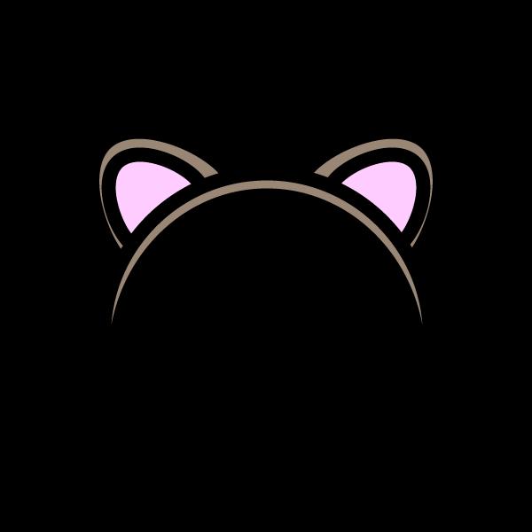 かわいい猫耳の無料イラスト・商用フリー