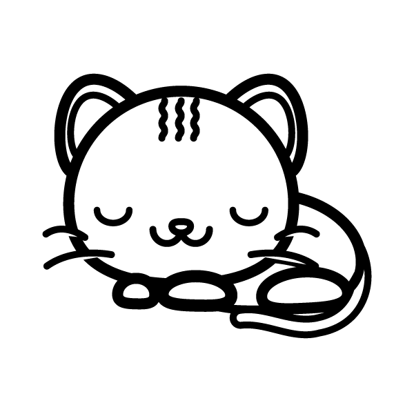 cat_sleep-blackwhite