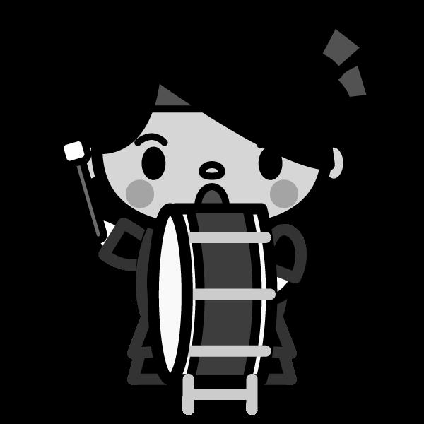 cheer_member-a-monochrome