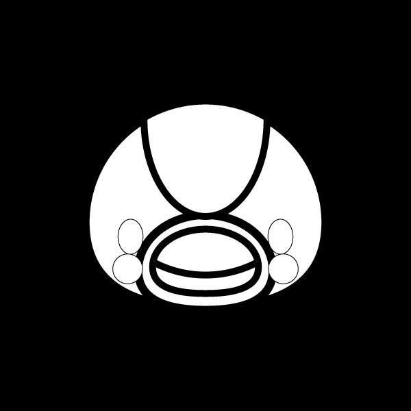 crane_face-blackwhite