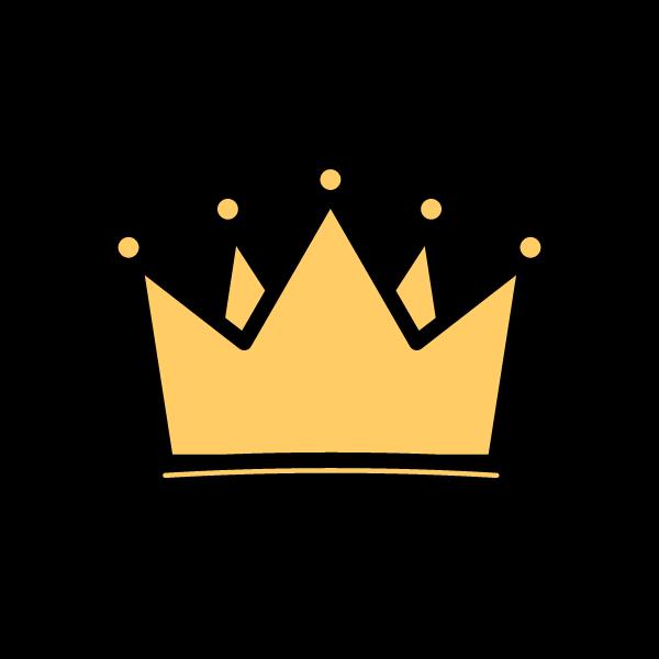 かわいい王冠の無料イラスト・商用フリー