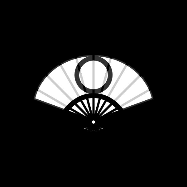 folding-fan_01-blackwhite