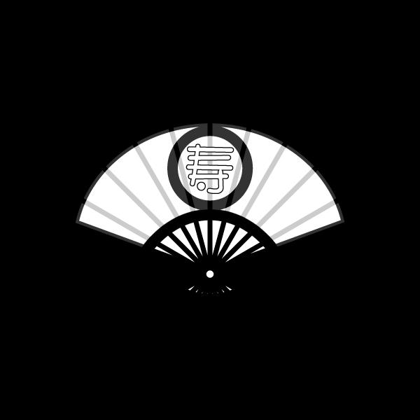 folding-fan_02-blackwhite