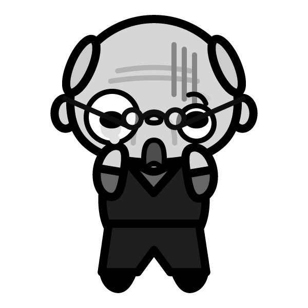grandfather_shock-monochrome