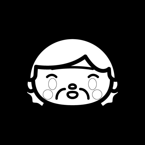 grandmother_face-blackwhite
