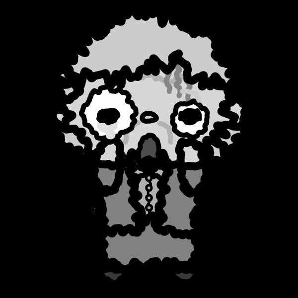 grandmother_fear-monochrome