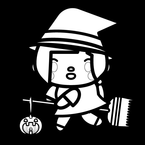 halloween_witch02-blackwhite
