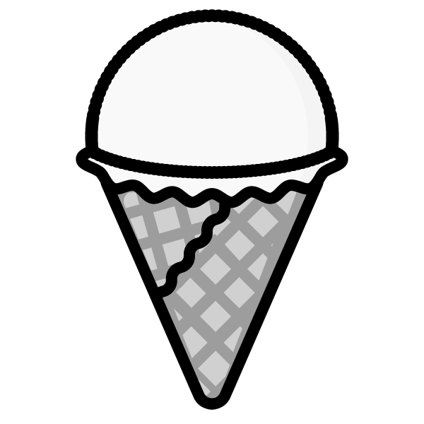 ice-cream_01-monochrome