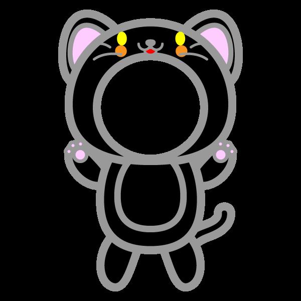 kigurumi_black-cat-round