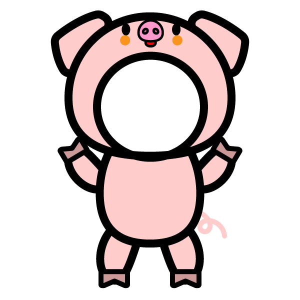 kigurumi_pig-round