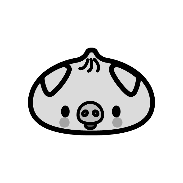 manjuu_pig-monochrome