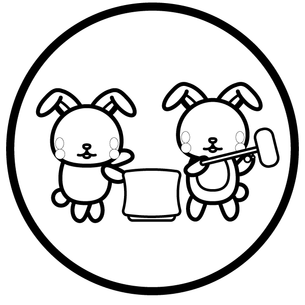 moon-viewing_rabbit02-blackwhite