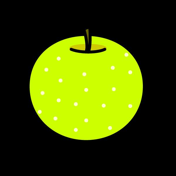 かわいい梨の無料イラスト・商用フリー