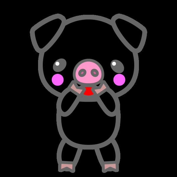pig_black-glad