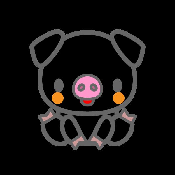 pig_black-sit