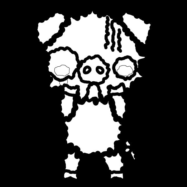pig_fear-blackwhite