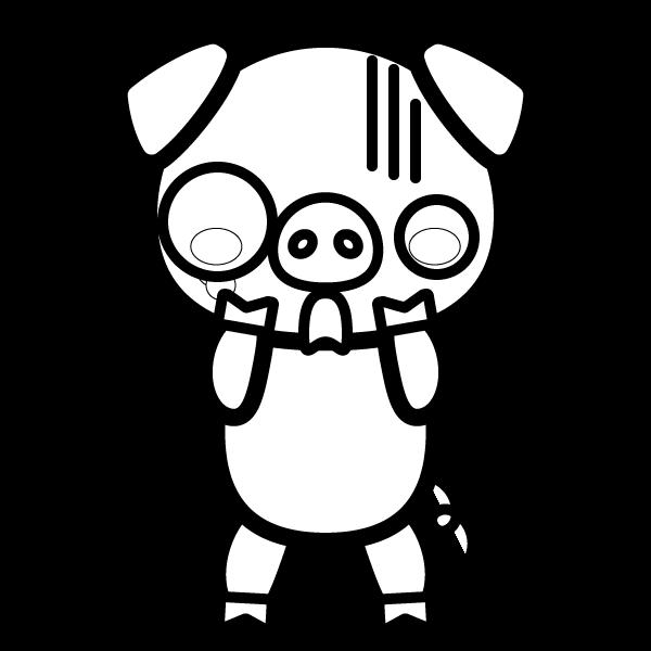 pig_shock-blackwhite